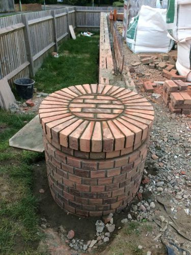 Brickwork in Ashford
