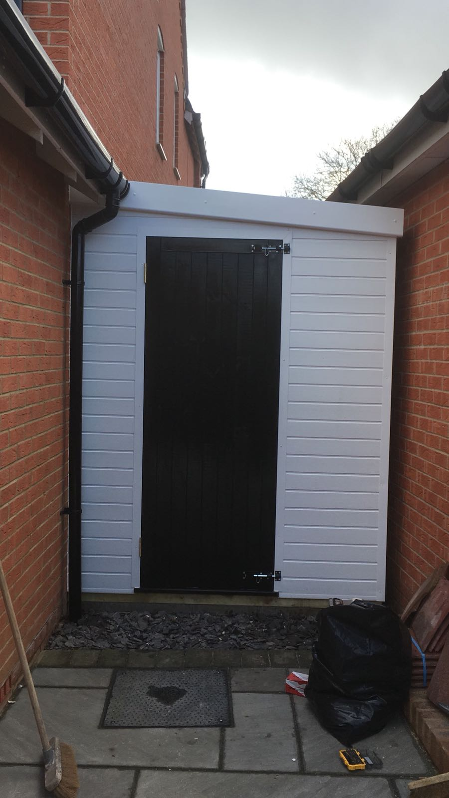 Cladded Shed